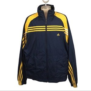 Y2K Adidas Windbreaker with Vibrant Classic Colors